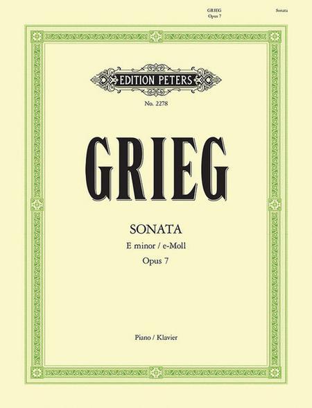 Sonata in E minor Op. 7