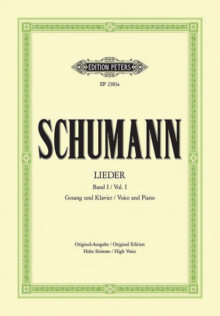 Lieder (Songs) - Volume 1 (Original Edition for High Voice)