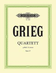 String Quartet in G Minor, Opus 27