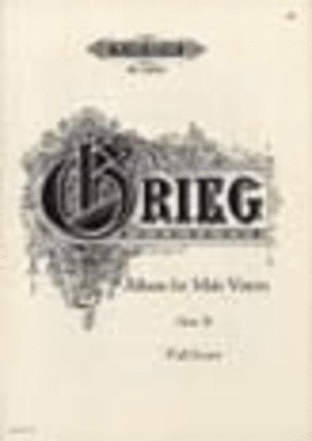 8 Choruses Op. 30