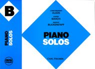 Music Pathways - Piano Solos B