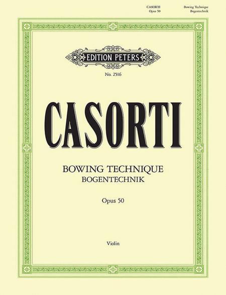 Bowing Technique Op. 50