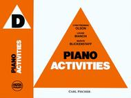Music Pathways - Piano Activities D
