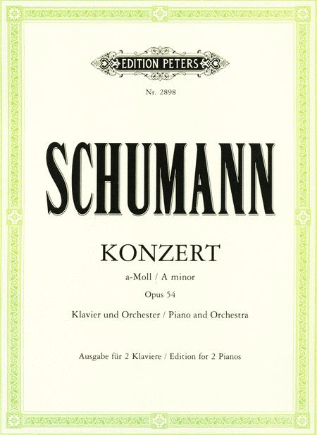 Concerto in A minor Op. 54