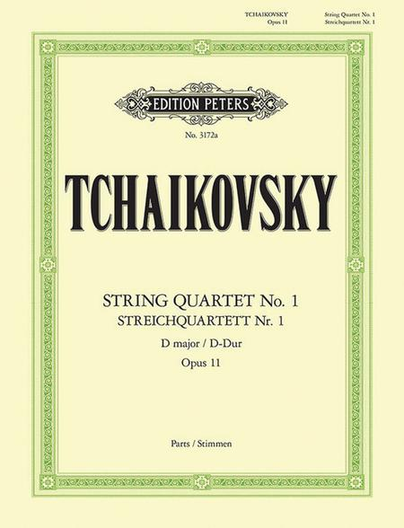 Streich Quartett (String Quartet), Op. 11 in D Major