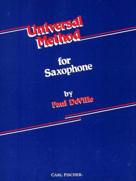 Universal Method for Saxophone
