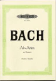 15 Contralto Arias from Cantatas