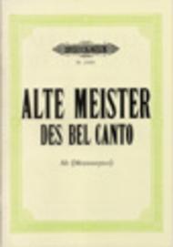 Alte Meister des Bel Canto Vol. 3