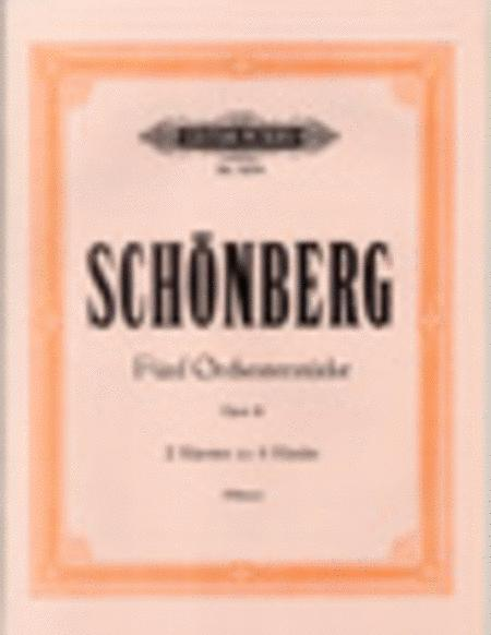 Five Orchestral Pieces Op. 16