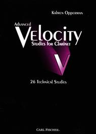 Advanced Velocity Studies For Clarinet