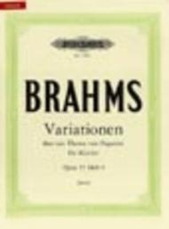Variations on a Theme of Paganini Op. 35 Vol.