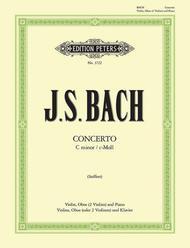 Concerto BWV 1060 in c minor