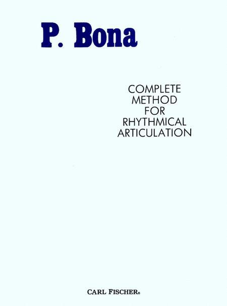 Complete Method For Rhythmical Articulation