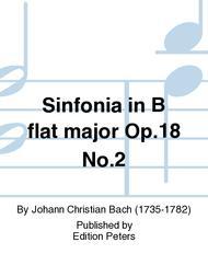 Sinfonia in B flat major Op. 18 No. 2
