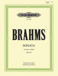 Sonata in E minor Op. 38