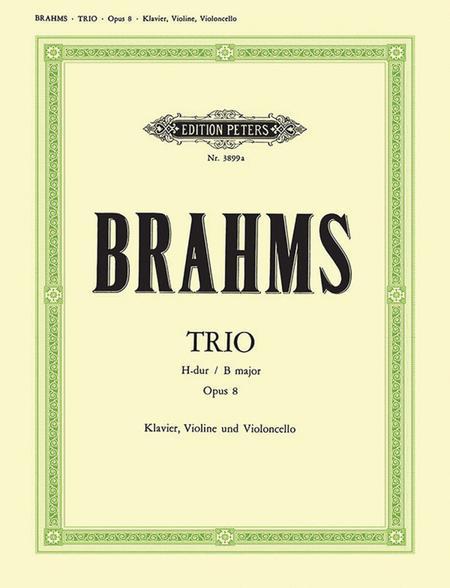 Piano Trio, Op. 8