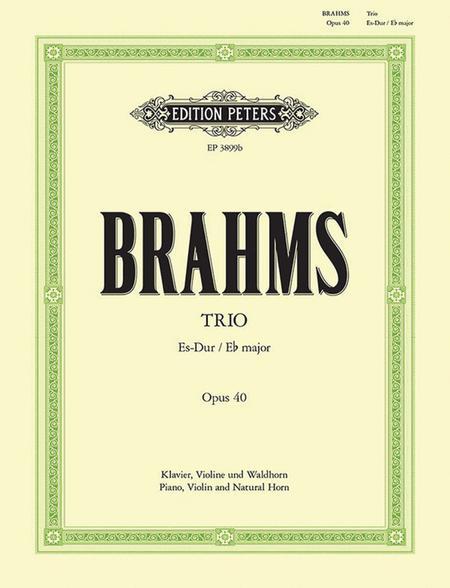 Trio, Opus 40