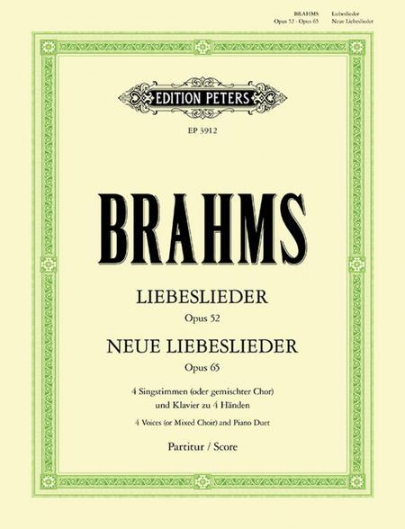 Quartets, Volume 2: Liebeslieder And New Liebeslieder Waltzes