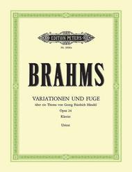 Variations & Fugue on a Theme of Handel Op. 24