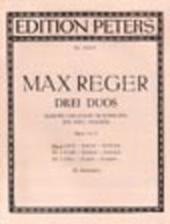 3 Duets Op. 131b: No. 1 in E minor