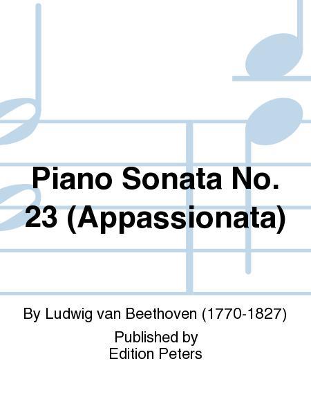 Piano Sonata No. 23 (Appassionata)