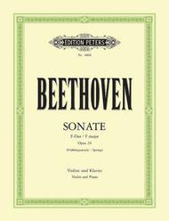 Sonata in F Op. 24 'Spring'