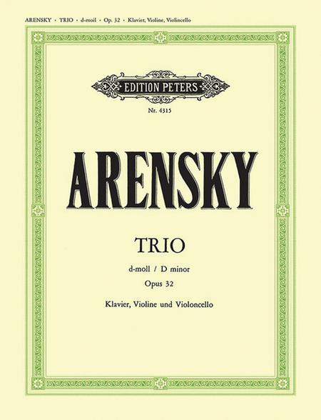Trio, Op. 32 in D Minor