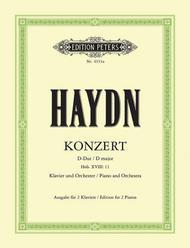 Piano Concerto No. 1 in D Hob.XVIII:11
