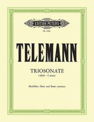 Trio Sonata in C Minor for Recorder, Oboe and Piano