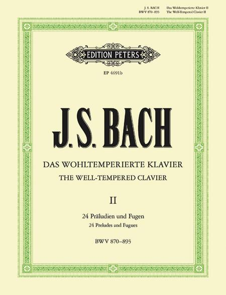 Well-Tempered Clavier - Volume 2