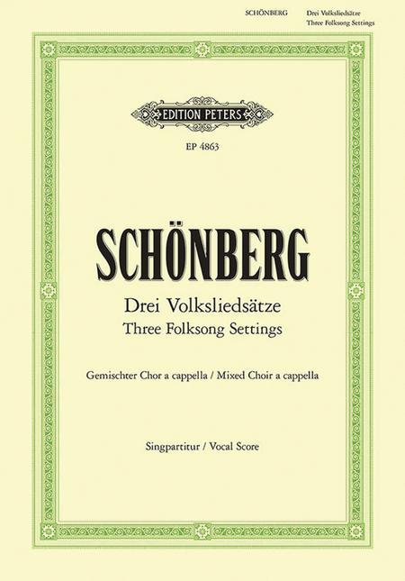 3 Folksong Settings