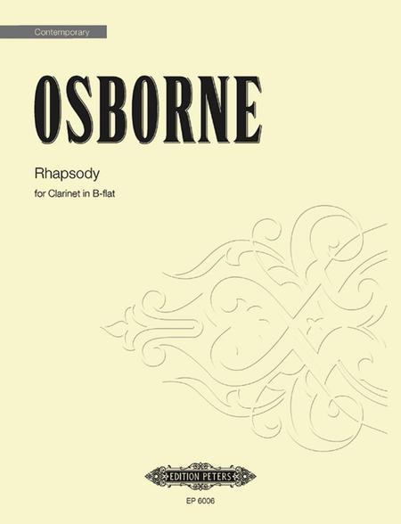 Rhapsody For Clarinet
