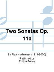 Two Sonatas Op. 110