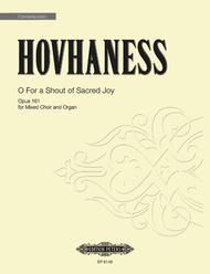 O For a Shout of Sacred Joy Op. 161